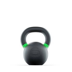 Kettlebell Russian Black 6 kg Russian Black Lacertosus