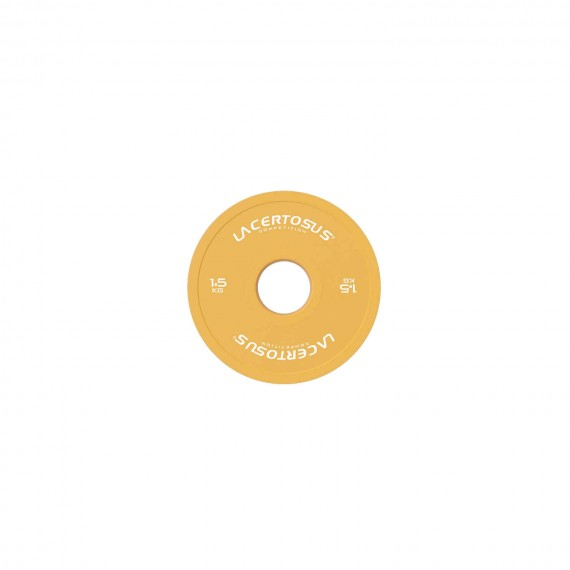 Competition Fractional Plate 1.5 Kg Dischi Small Competition