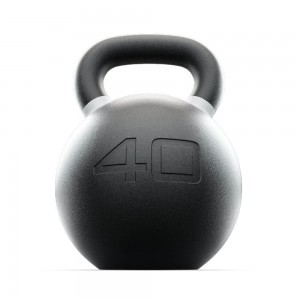 Kettlebell Russian Black 40 kg Russian Black Lacertosus