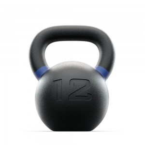 Kettlebell Russian Black 12 kg Russian Black Lacertosus