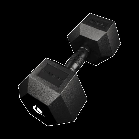 Manubrio PRO HEX Rubber 17.5 Kg