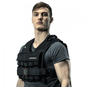 Weight Vest 20 Kg Adjustable Weights Vest Lacertosus