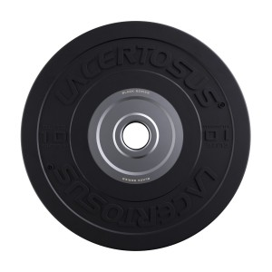 Bumper Plate 10 Kg Elite - Black Series