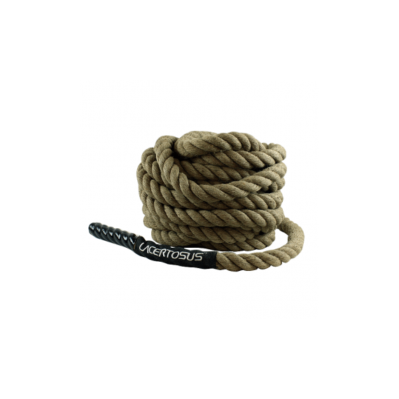 Fune allenamento 15m-38 Canapa TRAINING Battle ropes corde da